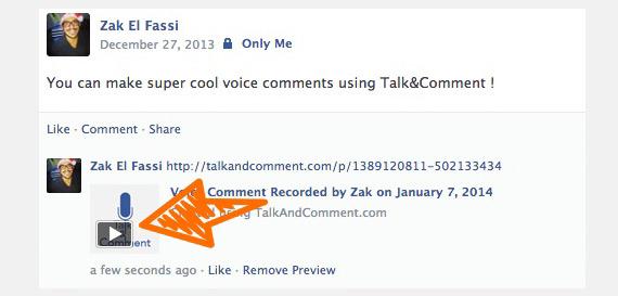 Cómo enviar mensajes de voz por Facebook