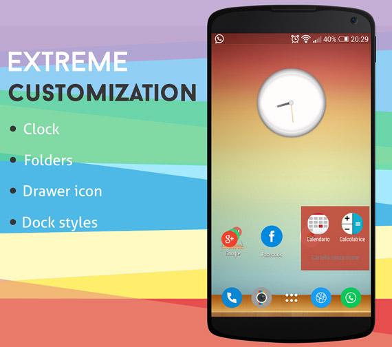Launcher alternativo para Android