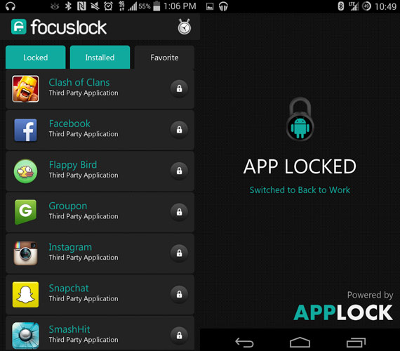Focus Lock: Evita distracciones en Android