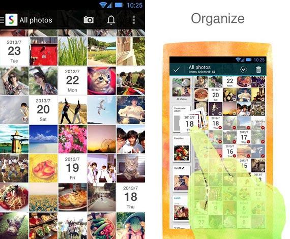 Scene: Organizar mejor las fotos en iOS y Android
