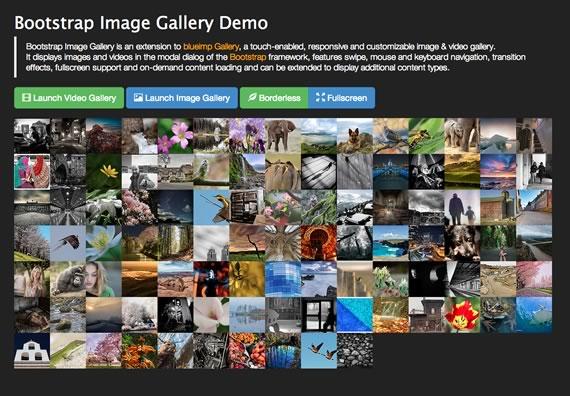 galeria de imagenes con bootstrap
