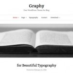 Themes gratis para WordPress: Graphy