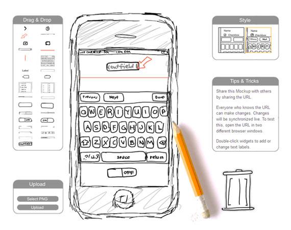 Crear mockups de iPhone online