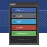 Plugin con kit social en PSD para Photoshop