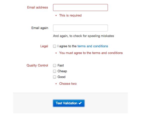 validar formularios con bootstrap