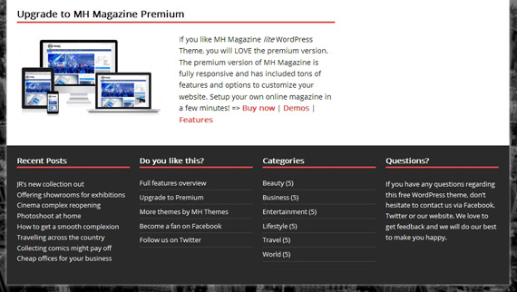 Theme gratis para WordPress formato revista