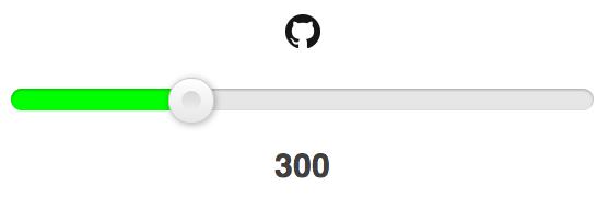 selector de rangos html5