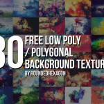 30 Low Poly Textures