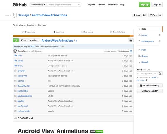 animaciones para android