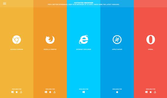 comprobar version del navegador con javascript