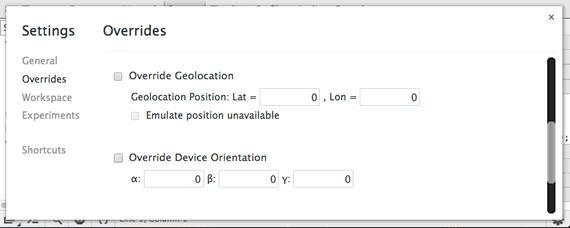 emular geolocalizacion