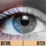 Acciones para efecto halftone en Photoshop