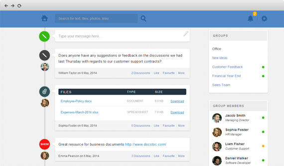 Honbu: herramienta colaborativa para pequeños grupos