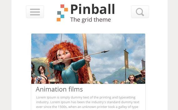 Pinball: plantilla grid en PSD gratis