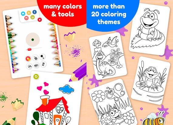 Imágenes para colorear gratis en Android