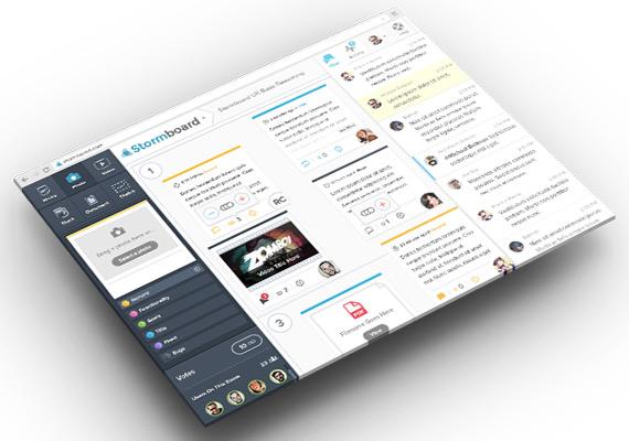 Stormboard: Ideas grupales para proyectos