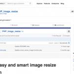 biblioteca php image resize