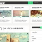 Themes gratis para WordPress: Euclid
