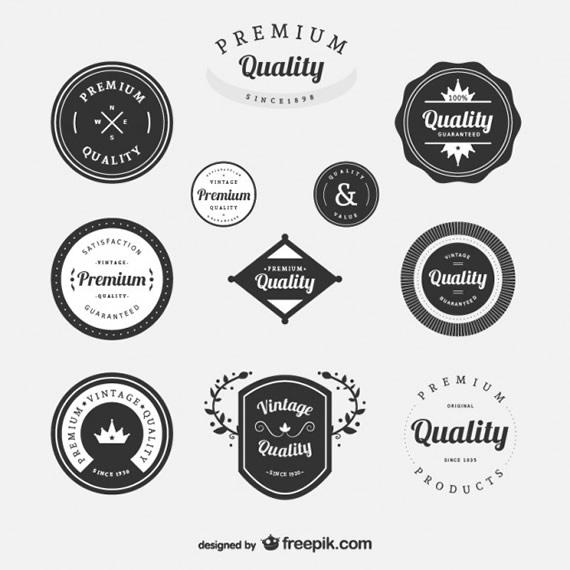 Premium Vintage Labels
