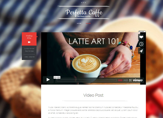 Themes gratis para WordPress: Perfetta