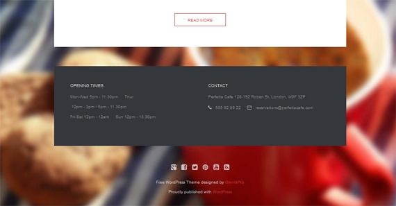 Themes gratis para WordPress: Perfetta