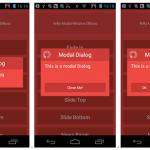 dialogos modales para android