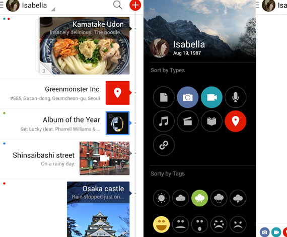 Flava: Diario personal completo en Android