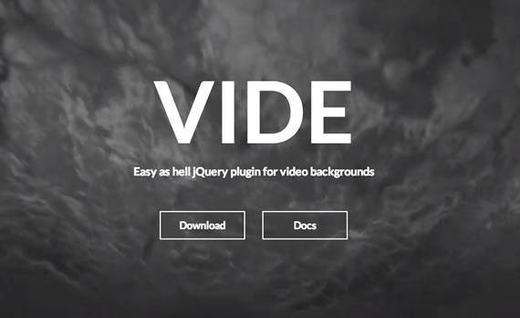 videos como background