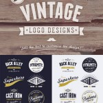 Customizable Vector Vintage Style Logo Designs