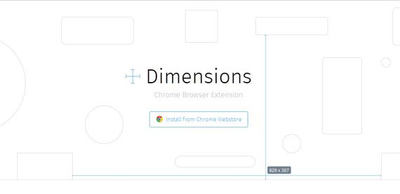 Extensión de Chrome para medir elementos