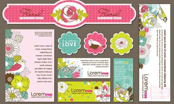 Floral Corporate Identity