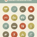 Camping & Recreation Icons