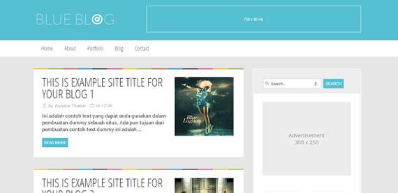 Blue Blog