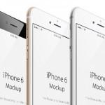 Mockups de iPhone 6