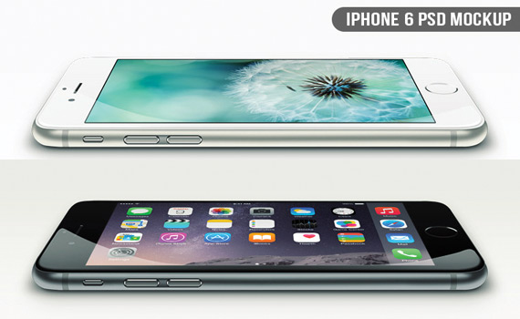 Mockups de iPhone 6 gratis