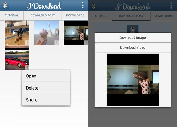 Aplicaciones Android para descargar videos