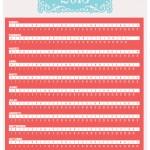 Plantillas para calendarios 2015 vectorizados