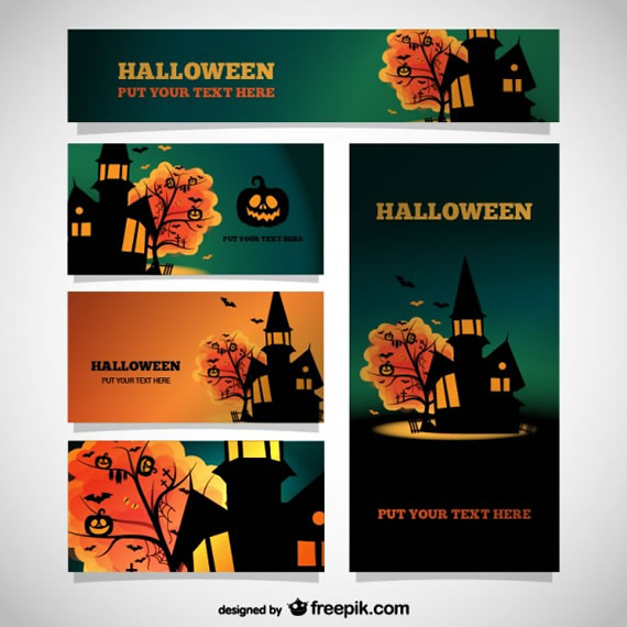 Halloween Template Set