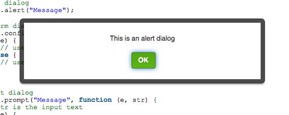 dialogo sencillo con alertify