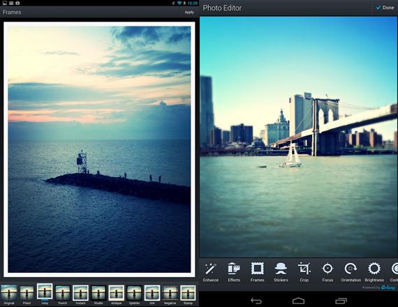 Las mejores aplicaciones Android para editar fotos