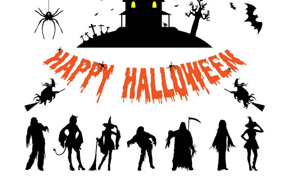 Personajes de Halloween