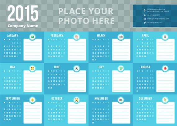 Business Calendar 2015
