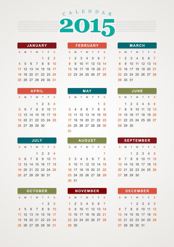 calendarios en espanol