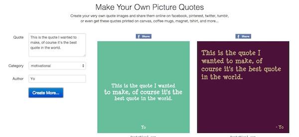 Frases en imágenes con PixelQuote.com