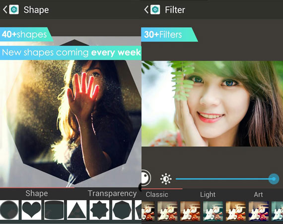 Aplicaciones Android para recortar fotos