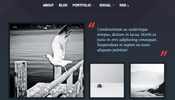 Ravel: plantilla liviana para WordPress