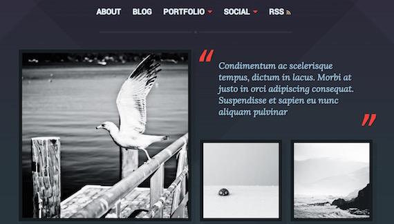 Ravel: plantilla liviana para WordPress