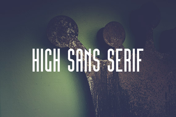 High Sans Serif