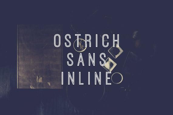 Ostrich Sans Inline