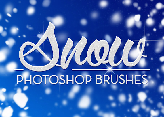 Snow Photoshop Brushes